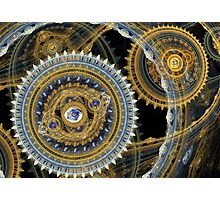 Steampunk machine Photographic Print