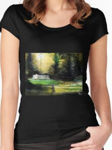 At Peace Women's Fitted Scoop T-Shirt