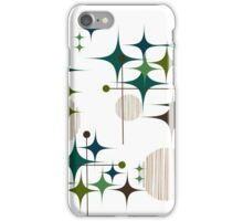 Eames Era Starbursts and Globes iPhone Case/Skin