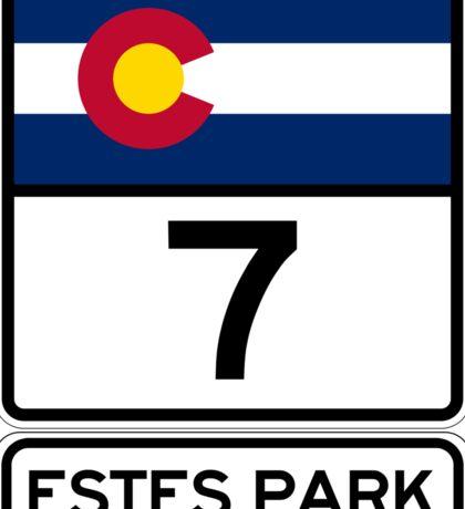 CO-7 Estes Park Colorado Sticker