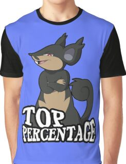 Alolan Rattata Graphic T-Shirt
