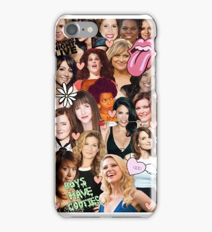 The Women of SNL collage iPhone Case/Skin