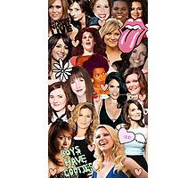 The Women of SNL collage Photographic Print