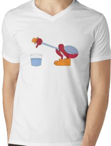 It's drinking the water Mens V-Neck T-Shirt