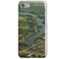 High Above The Ottawa River © iPhone Case/Skin