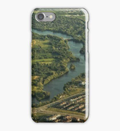 High Above The Ottawa River © iPhone Case/Skin