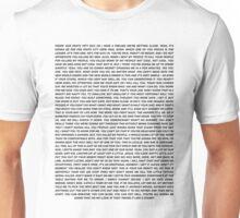 Negan Speech Unisex T-Shirt