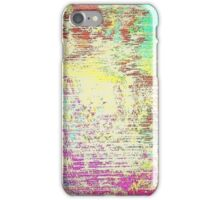 Glitch - Static - MatchaAlan iPhone Case/Skin