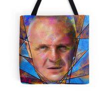 Kinsignium - portrait of Anthony Hopkins Tote Bag