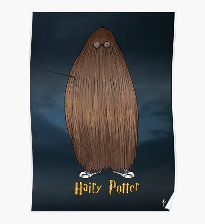 Hairy Potter Poster