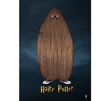 Hairy Potter Photographic Print