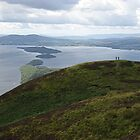 View of Loch Lomond from the summit of Conic Hill, Balmaha by MagsWilliamson