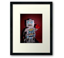 Lego Robot Framed Print