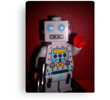 Lego Robot Canvas Print