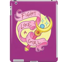 Sailor Moon - Fight like a girl! iPad Case/Skin