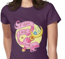 Sailor Moon - Fight like a girl! Womens Fitted T-Shirt
