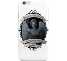 Weeping Angel - Doctor Who iPhone Case/Skin