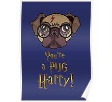 You're a Pug Harry Poster