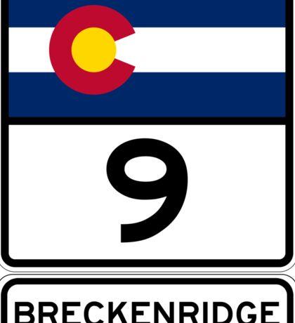 CO-9 Breckenridge Colorado Sticker