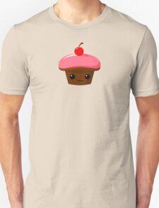 Strawberry Chocolate Cupcake Unisex T-Shirt