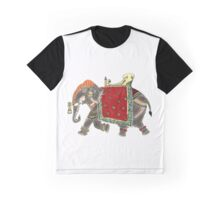 Royal Elephant Graphic T-Shirt