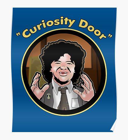 Curiosity Door Poster