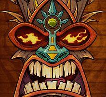 Tiki Head Style 3 by Brian Allen