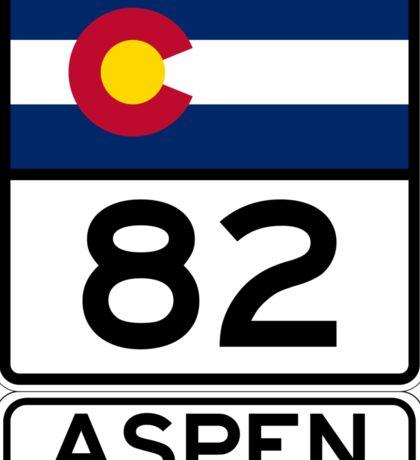 CO-82 - Aspen Sticker