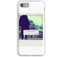 Sherlock Polaroid iPhone Case/Skin