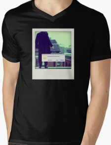 Sherlock Polaroid Mens V-Neck T-Shirt