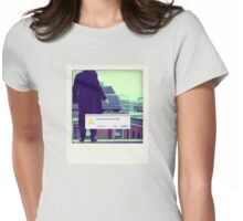 Sherlock Polaroid Womens Fitted T-Shirt