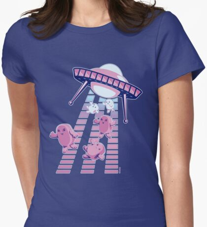 Up, Up and Away... Womens Fitted T-Shirt