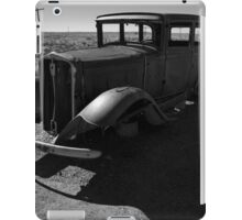 Old Vehicle VI BW iPad Case/Skin