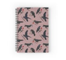 Minor Arcana (Crows) Spiral Notebook