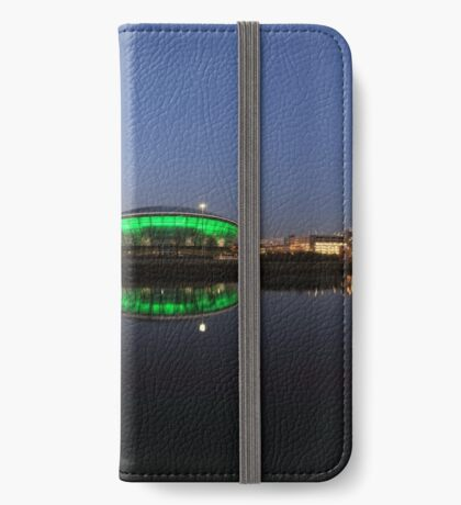 Waterfront Pano in the Twilight iPhone Wallet/Case/Skin