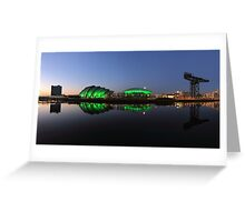 Waterfront Pano in the Twilight Greeting Card