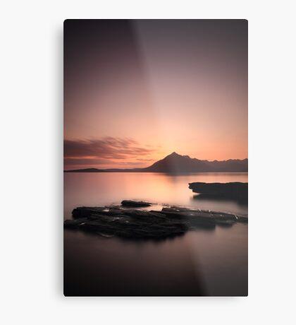 Elgol Sunset Afterglow Metal Print