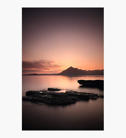 Elgol Sunset Afterglow Photographic Print