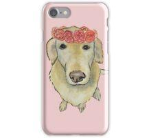 Flower Crown Pooch iPhone Case/Skin