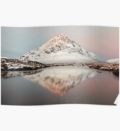 Buachaille Morning Sunrise Poster