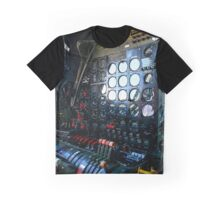 Boeing B29 Superfortress cockpit Graphic T-Shirt