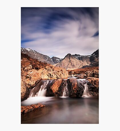 Ghost of the Fairy Pools Photographic Print