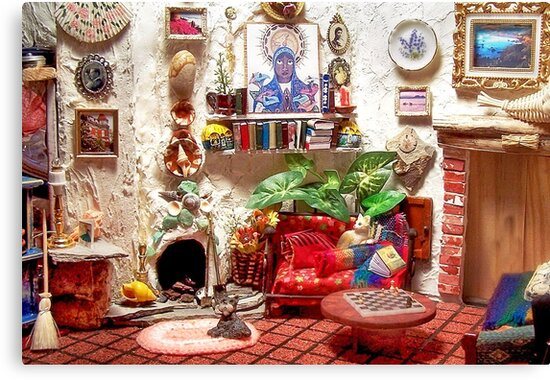 La Casita (Little House) /Scene from a Miniature) by Nadya Johnson