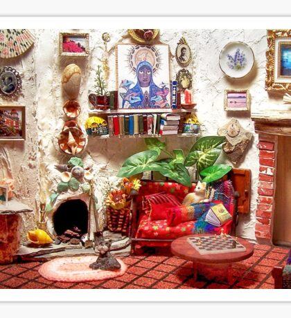 La Casita (Little House) /Scene from a Miniature) Sticker