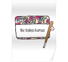 Hello I'm [the Token Human] Poster