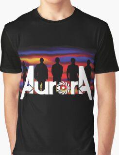 Aurora Band Graphic T-Shirt