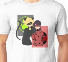Ladybug and Chat Noir Unisex T-Shirt