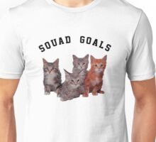 Squad Goals cat  Unisex T-Shirt