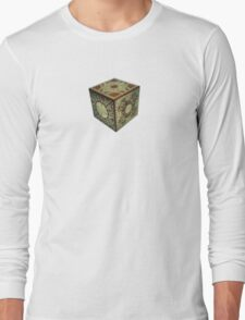The Lament Configuration (aka Hellraiser Puzzle Box) Long Sleeve T-Shirt