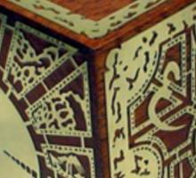 The Lament Configuration (aka Hellraiser Puzzle Box) Sticker